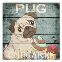 Pug Cupcakes Fine-Art Print