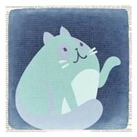 Quirky Cats 4 Fine-Art Print