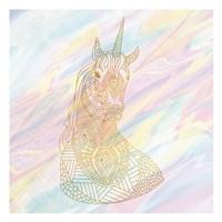Unicorn Dreaming 1 Fine-Art Print