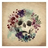 Floral Skull 1 v2 Fine-Art Print