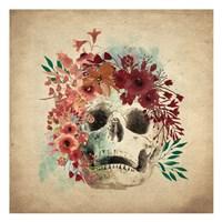 Floral Skull 2 v2 Fine-Art Print