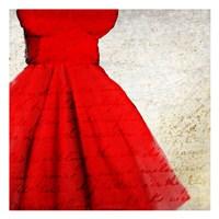 Little Red Dress Fine-Art Print