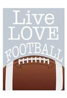 Football Love Fine-Art Print