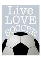 Soccer Love Fine-Art Print