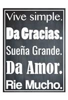 Vive Simple 1 Fine-Art Print