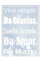 Vive Simple 2 Fine-Art Print