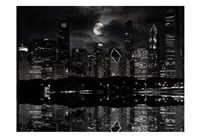 Full Moon Chicago Fine-Art Print