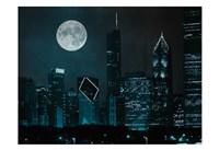 Moonlit Chicago Fine-Art Print