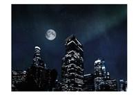 Moon Embraced Los Angeles Fine-Art Print