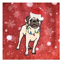 Pug Cheer Fine-Art Print