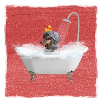 Steamy Bath 2 Fine-Art Print