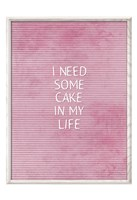 Cake In My Life Fine-Art Print