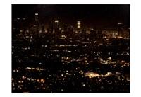 LA At Night Fine-Art Print