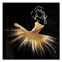 Golden Dress Puff Fine-Art Print