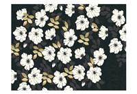1613 Flora Noir Floral Repeat Fine-Art Print