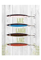 Live Laugh Lake Fine-Art Print