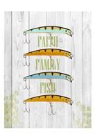 Faith Family Fish Fine-Art Print