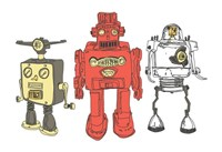 Three Robots Fine-Art Print
