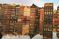 Amsterdam Houses Fine-Art Print
