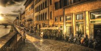 Florence Rain Fine-Art Print