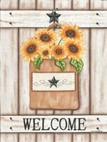 Sunflower Welcome Fine-Art Print