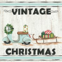 Vintage Christmas Fine-Art Print