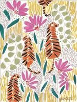 Hello Tiger - Orange Fine-Art Print
