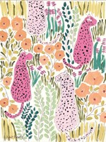 Hello Cheetah - Pink Fine-Art Print