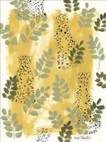 Hello Cheetah - Green Fine-Art Print