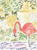 Fancy the Flamingo Fine-Art Print