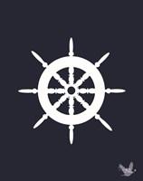 Nautical Ocean 1 Fine-Art Print
