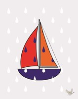 Nautical Raindrops 2 Fine-Art Print
