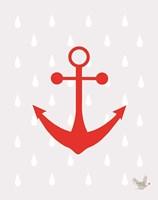 Nautical Raindrops 3 Fine-Art Print