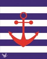 Nautical Stripes 3 Fine-Art Print