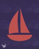 Nautical Waves 2 Fine-Art Print