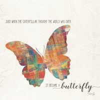 A Butterfly Fine-Art Print