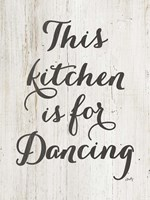This Kitchen is for Dancing Fine-Art Print