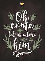 Oh Come Let Us Adore Him Fine-Art Print