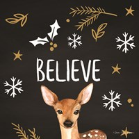 Believe Deer Fine-Art Print