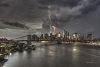 Manhattan Storm Fine-Art Print