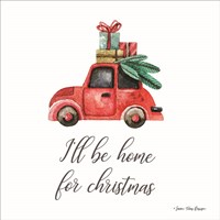 I'll be Home for Christmas Fine-Art Print