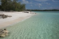 Picard Island White Sand Beach, Seychelles Fine-Art Print