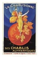 La Chablisienne Ses Chablis Authentiques, 1926 Fine-Art Print