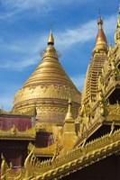 Shwezigon Pagoda, Bagan, Mandalay Region, Myanmar Fine-Art Print