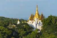 Pagoda on Sagaing Hill, Mandalay, Myanmar Fine-Art Print