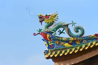 Dragon Sculpture, South Putuo Temple, Xiamen, Fujian Province, China Fine-Art Print