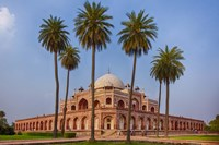 Exterior view of Humayun's Tomb in New Delhi, India Fine-Art Print