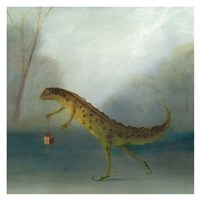 The Yuletide Newt Fine-Art Print