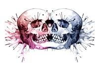 Conjoined Skull Fine-Art Print