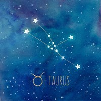 Star Sign Taurus Fine-Art Print